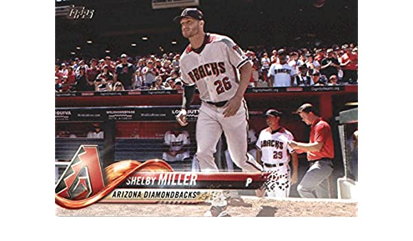 a038458f52fb3c Amazon.com: 2018 Topps Series 2#425 Shelby Miller Arizona Diamondbacks  Baseball Card - GOTBASEBALLCARDS: Collectibles & Fine Art