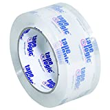 Tape Logic TLT902200CC #200CC Crystal Clear Tape, 2.0 Mil, 2'' x 110 yds., Clear, 36/Case