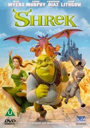 Shrek Dvd 2001 Amazon Co Uk Mike Myers Eddie Murphy Andrew