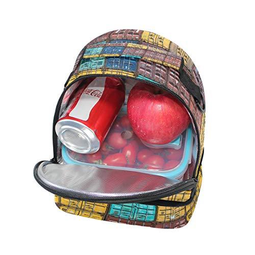 almuerzo pincnic Alinlo hombro para con ajustable y de escuela para aislamiento Bolsa de la correa el wSZEqS