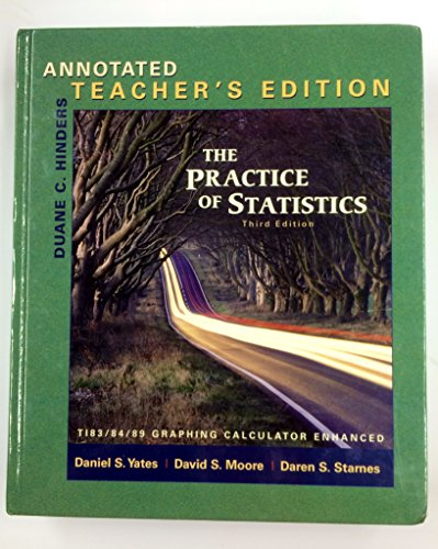 Practice of Statistics, 3rd ed., Annotated Teacher's Edition
