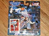 Greg Maddux 2000 Starting Lineup Collectible by Sports by Full 90