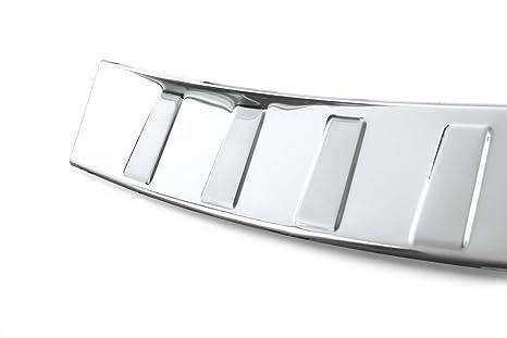 teileplus24 L594C Acero Inoxidable Parachoques protección 3D ...
