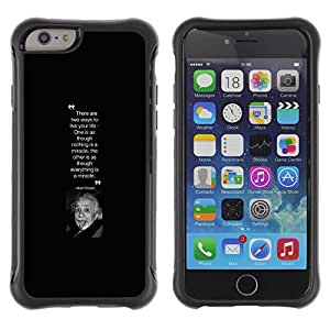 BullDog Case@ Albert Einstein Scientist Picture Quote Rugged Hybrid Armor Slim Protection Case Cover Shell For iphone 6 6S CASE Cover ,iphone 6 4.7 case,iphone 6 cover ,Cases for iphone 6S 4.7