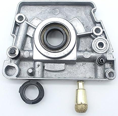 Ölpumpenöler Schneckengetriebe Ölfilter Passend Für Husqvarna 61 66 266 268 272 268xp 272xp Kettensägen Ersatzteile Auto