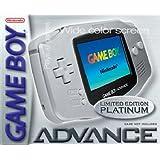 Gameboy Advance Konsole Platin
