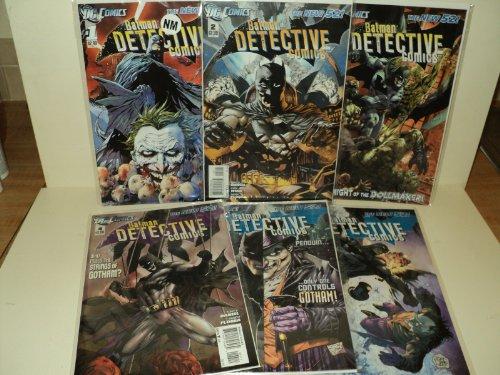 DC Comics Batman DETECTIVE COMICS #1-6 The new 52 First Prints