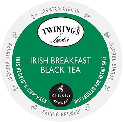 TWININGS IRISH BREAKFAST BLACK TEA K-CUPS 96 COUNT by (Irish Breakfast Green Tea)
