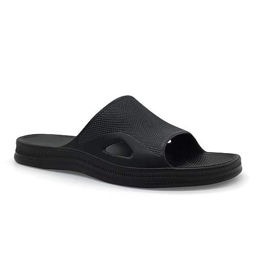 8cec4fa810b FUNKYMONKEY Bathroom Shower Sandal Mens Womens Indoor Home Beach Non Slip  Slippers (7 D(