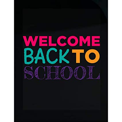 Amazoncom Welcome Back To School Gift Idea Transparent