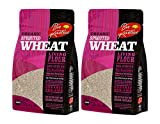 Organic, Sprouted Wheat Flour, Non-GMO, Bio-Available with a Great Taste (24 oz) - Pack of 2