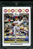 Dan Haren - Arizona Diamondbacks - 2008 Topps Updates & Highlights Baseball Card in Protective Screwdown Display Case!