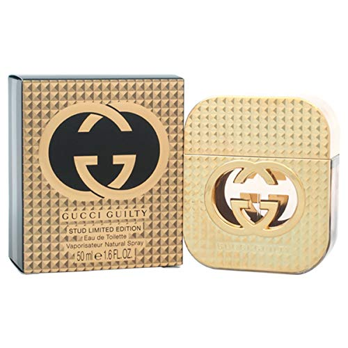 Gùcci Guilty Stud Limited Edition For Women Eau de Toilette Spray 1.6 OZ./ 50 ml. (Flora By Gucci Eau De Toilette 30ml)