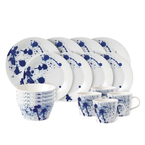 Royal Doulton Pacific 16 Piece Set Splash Dinnerware Set, Multiple