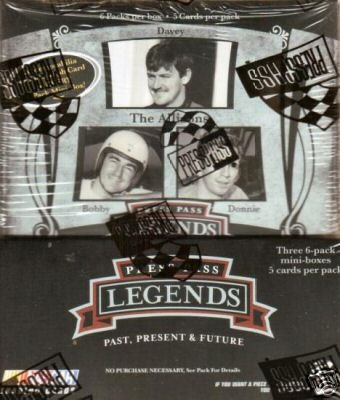 2006 Press Pass Legends Racing HOBBY Box - 18P4C (Press Pass Racing Hobby Box)