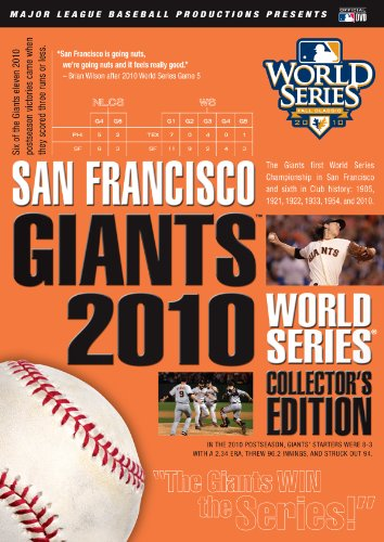 The San Francisco Giants 2010 World Series Collector