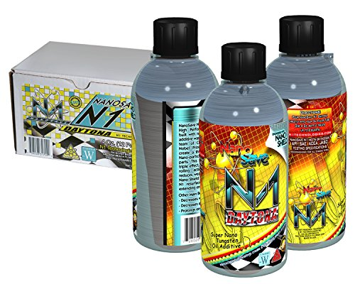 NanoSave N1-Daytona Nano Engineered High Performance Oil Additive - 4 oz. (12 Pack) by NanoSave