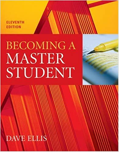 Amazon becoming a master student 9780618467709 dave ellis books becoming a master student 11th edition fandeluxe Gallery