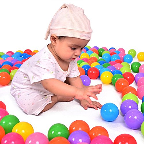 Soft Funny Baby Kid Swim Plastic Balls 100pcs/lot Material, Non-toxic, No Smell. The Perfect Toy For Your Baby.