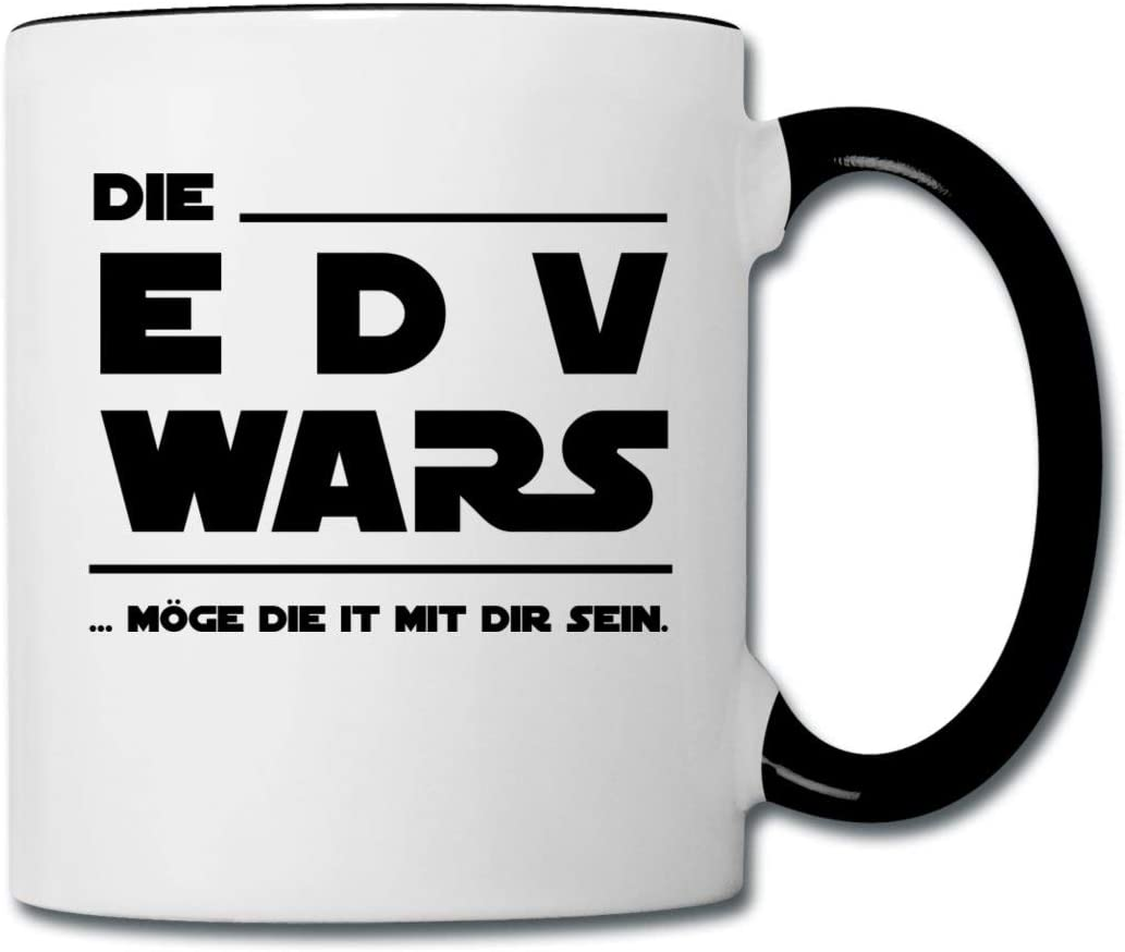 Möge Die IT Mit Dir Sein Tasse zweifarbig Die EDV Wars