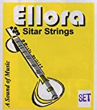 Sitar Strings, Ellora Roselu, Complete Set with Sympathetic (Tarabh) Strings