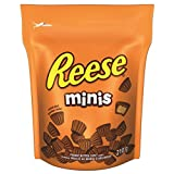 REESE Peanut Butter Cups, Christmas Chocolate Candy Minis, Stocking Stuffer, 210 Gram