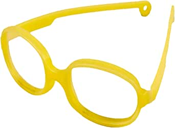 Solo Bambini Oval Unisex Frame - Rookie44-44-16-125mm, Yellow
