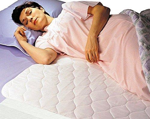 36' Disposable Underpads (Fiberlinks Textiles Inc. Waterproof Sheet Protector Flaps, 34'' X 36'')