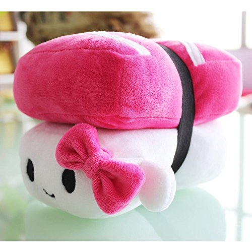 Japanese Foods Salmon/Egg/Tuna sushi food pillows plush toy sleeping pillow home (Salmon Egg Sushi)