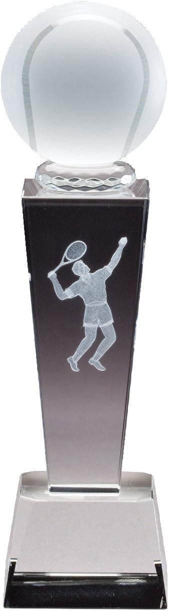 Amazon.com: vidrio trofeo de tenis con grabado gratis ...
