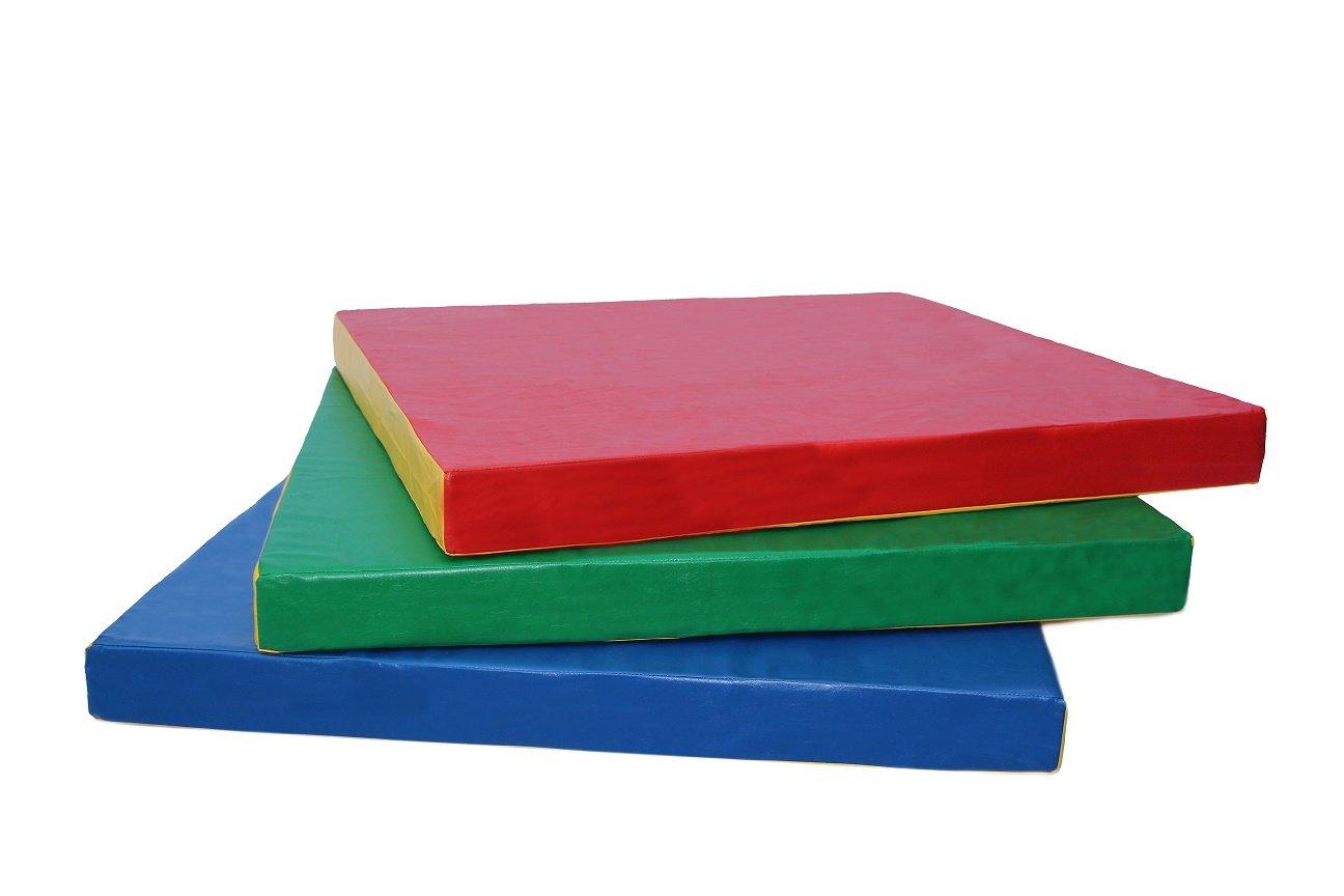 クラッシュ体操マット100 x 100 x 10 cm ( about 40