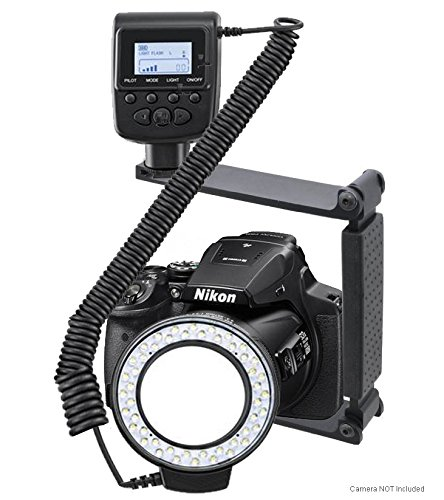 Nikon COOLPIX P900 Dual Macro LED Ring Light (Ring Light For Nikon Coolpix)