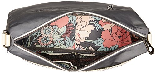 Sakroots Charcoal Power Flower Charcoal Hobo Willow RnqZwrBRv