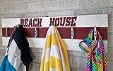 Life Guard Beach House Coat Rack - Wall Hooks - Coat Rack - Entryway Organizer - Coat Rack Wall - Towels and Bathing Suits - Beach house decor - Beech