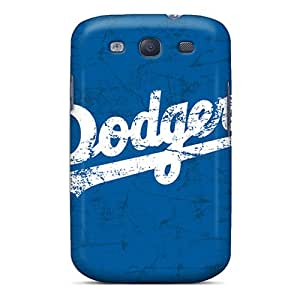 MansourMurray Samsung Galaxy S3 Shock Absorbent Cell-phone Hard Covers Provide Private Custom High-definition Los Angeles Dodgers Skin [zVp20085FdKU]