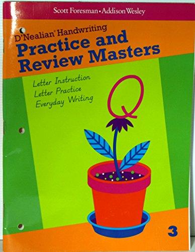 Do-It-Yourself D'Nealian Practice & Review Gr3