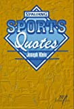 Sports Quotes, Joe Klein, 1570280355