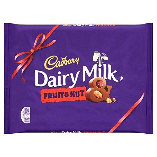 Nuts Fruit Dairy (Cadbury Dairy Milk Fruit & Nut 360g)