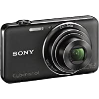 SONY Cyber-shot WX50 (16.2MPCMOS/x5 Optical zoom)Black DSC-WX50/B [International Version, No Warranty]