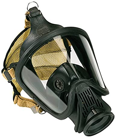 MSA Safety 10043417 silicona Ultra Elite Epi Asamblea Full negro ...