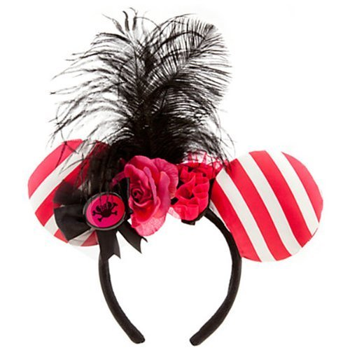WDW Pirate Minnie Mouse Ear Headband (Pirates Minnie Mouse Iya head band) not yet sale in Japan ()