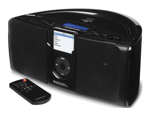 Emerson iTone iP550BK Portable Stereo System for iPods (Black)
