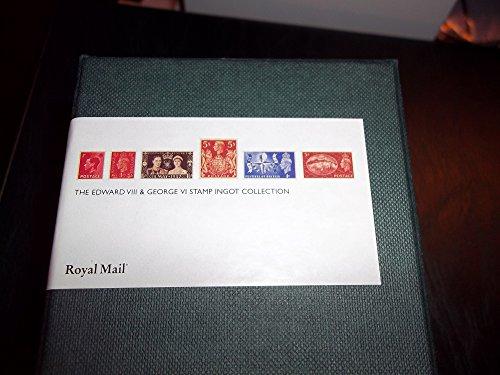 Edward VIII & George VI Stamp Ingot Collection (Royal Mail)