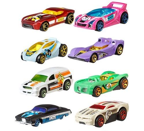 Disney Cars Gift Set (Hot Wheels 2019 Disney 90th Anniversary Edition Exclusive 8 Car Gift Set)