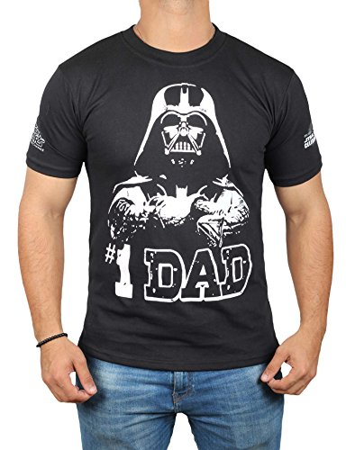 Qck Cloth - Star Wars #1 Dad Darth Vader T-Shirt - Mens Adult Father's Day Shirt by Miracle (XX-Large)