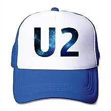 Cool U2 Band Logo Design Trucker Mesh Baseball Cap Hat