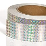 Adhesive Bird Scare Repellent Flash Tape: Holographic Deterrent Devices for Pigeon