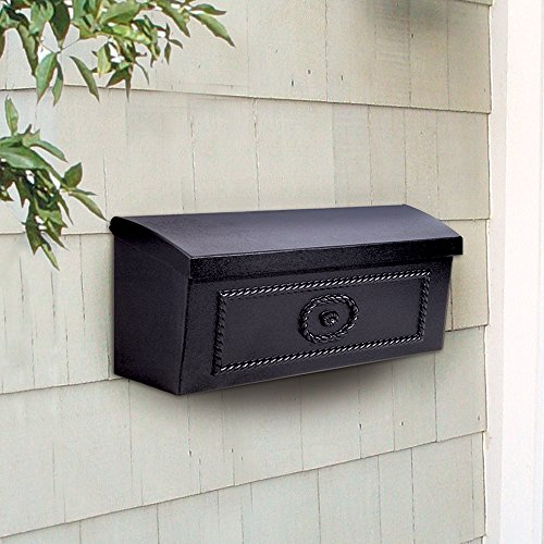 Salsbury Industries 4560BLK Townhouse Surface Mounted Mailbox, Black by Salsbury Industries (Image #1)