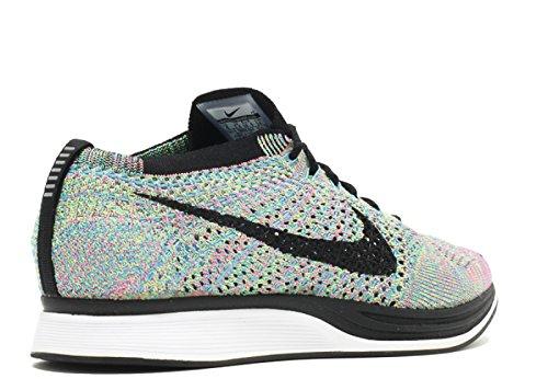 Nike Flyknit Racer Zapatillas de Deporte, Unisex Adultos negro / blanco (Negro/Blanco-Blanco)