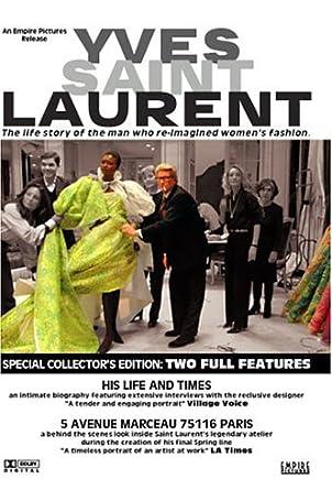 add43dfd86ed Yves Saint Laurent - His Life and Times 5 Avenue Marceau 75116 Paris